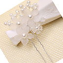 cheap Women's Heels-Imitation Pearl Hair Stick with Imitation Pearl / Floral 1pc Wedding Headpiece