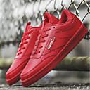 זול סניקרס לגברים-בגדי ריקוד גברים טול אביב / קיץ נוחות נעלי ספורט לבן / שחור / אדום