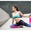 זול בגדי ריצה-בגדי ריקוד נשים טייץ לריצה - ורוד / שחור ספורט טייץ רכיבה על אופניים / חותלות יוגה, כושר וספורט, חדר כושר לבוש אקטיבי ייבוש מהיר, באט הרם