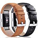 baratos Smartwatch Acessórios-Pulseiras de Relógio para Fitbit Charge 2 Fitbit Fecho Clássico Couro Tira de Pulso