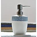 זול פרח מלאכותי-כלי לסבון קאנטרי קרמי יחידה 1 - לבית אמבטיה מיכל סבון