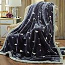 preiswerte Sofadecken & Überwürfe-Korallenfleece, Gesteppt Geometrisch Baumwolle/Polyester Polyester Decken