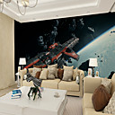 cheap Wall Murals-Art Deco Pattern 3D Home Decoration Classic Modern Wall Covering, Canvas Material Adhesive required Mural, Room Wallcovering
