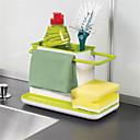 tanie Akcesoria do Oświetlenia-Organizacja kuchni Naczynia do naczyń Plastik Kreatywny gadżet kuchenny 1 szt.