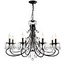 tanie Żyrandole-LightMyself™ 8 świateł Żyrandol Światło rozproszone - Kryształ, 110-120V / 220-240V Nie zawiera żarówek / 15-20 ㎡ / E12 / E14