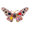 cheap Religious Jewelry-Women's Brooches - Butterfly, Animal Sweet Brooch Golden For Daily / Date