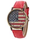 preiswerte Modische Uhren-Damen damas Quartz Schwarz / Weiß / Blau Armbanduhren für den Alltag Analog Modisch - Rot Grün Rosa