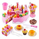 cheap Toy Kitchens & Play Food-Holiday / Family / Cake Exquisite / Parent-Child Interaction Kid's Gift 75 pcs