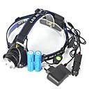 hesapli Fenerler-Kafa Lambaları LED LED Emitörler 5000 lm 1 Işıtma Modu Portatif Profesyonel Yıpranmaz Kamp / Yürüyüş / Mağaracılık Bisiklete biniciliği Avlanma Mavi