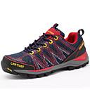 זול נעלי עקב לנשים-בגדי ריקוד נשים נעליים PU קיץ נוחות נעלי אתלטיקה טיפוס שטוח בוהן עגולה סגול / אדום