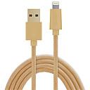 tanie Kable i Ładowarka-Oświetlenie Adapter kabla USB Kręcone / Wysoka prędkość / Szybka opłata Kable Na iPhone 500 cm Na PVC