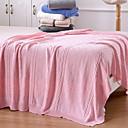 preiswerte Sofadecken & Überwürfe-Strick, Garngefärbt Solide Baumwolle Decken