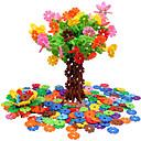 baratos Blocos de Encaixar-Blocos de Montar Teste padrão geométrico Tema Jardim Animais Portátil 500pcs Peças Crianças Dom