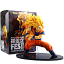 cheap Anime Action Figures-Anime Action Figures Inspired by Dragon Ball Son Goku PVC(PolyVinyl Chloride) 19 cm CM Model Toys Doll Toy