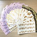 billige tatovering klistremerker-10 pcs Tatoveringsklistremerker midlertidige Tatoveringer Totem Serier / Blomster Serier / Smykke Serier Vanntett kropps~~POS=TRUNC Krop / hender / arm