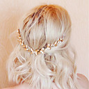 cheap Party Headpieces-Alloy Hair Combs with Imitation Pearl 1pc Wedding / Party / Evening Headpiece