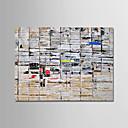 billige Landskabsmalerier-Hang-Painted Oliemaleri Hånd malede - Abstrakt Moderne Uden indre ramme / Valset lærred