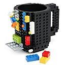 cheap Mugs & Cups-Drinkware Plastics Coffee Mug Cartoon 1pcs