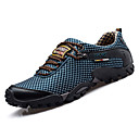 cheap Men's Athletic Shoes-Men's Tulle Spring / Fall Comfort Sneakers Black / Blue / Wine