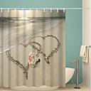 baratos Cortinas de Banho-Cortinas e Ganchos de Banho Moderna Poliéster Inovador Impermeável Banheiro