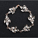 cheap Bracelets-Women's Crystal Bracelet - Drop, Flower European, Fashion Bracelet Gold / Silver For Wedding Daily