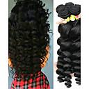 preiswerte Haarverlängerungen in natürlichen Farben-6 Bündel Malaysisches Haar Wellen 10A Unbehandeltes Haar Menschenhaar spinnt Haarpflege Erweiterung Naturfarbe Menschliches Haar Webarten Weich Beste Qualität Schlussverkauf Haarverlängerungen Damen