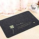 preiswerte Gardinen-1pc Freizeit Badvorleger Bambus, Cotton Blend Blumenmuster Quadratisch Rutschfest