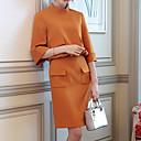 ieftine Papuci de casă-Pentru femei Bumbac Bluză - Culoare solidă, Rochii Dantelă / Plisată / Primăvară