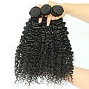 cheap Natural Color Hair Weaves-Brazilian Hair Kinky Curly Human Hair Extensions 3 Bundles 8-28 inch Human Hair Weaves Extention / Hot Sale Natural Black Human Hair Extensions All