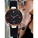 cheap Fashion Watches-Women's Bracelet Watch Leather Black / Red / Green Imitation Diamond Analog Bangle Elegant - Red Green Pink One Year Battery Life / SSUO LR626
