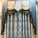 preiswerte Schuhe für Zeitgenössischen Tanz-Vorhänge drapiert Wohnzimmer Geometrisch Baumwolle / Polyester Bedruckt
