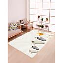 זול שטיחים-שטיחון לדלת כניסה / משטחים לאמבט / שטח שטיחים ספורט ושטח / מודרני פלנלית, מלבן איכות מעולה שָׁטִיחַ / החלקה ללא לטקס