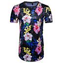 abordables Bañadores de Hombre-Hombre Exagerado Chic de Calle Estampado Camiseta Floral Bloques