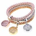 cheap Necklaces-Women's Charm Bracelet Strand Bracelet - Fashion Bracelet Rainbow For Party Gift / 3pcs