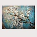 povoljno Apstraktno slikarstvo-Hang oslikana uljanim bojama Ručno oslikana - Pejzaž Cvjetni / Botanički Moderna Bez unutrašnje Frame / Valjani platno