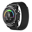 preiswerte Smart Uhr Accessoires-Uhrenarmband für Fenix 5x / Fenix 3 HR / Fenix 3 Garmin Mailänder Schleife Metall Handschlaufe