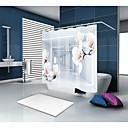 voordelige Douchegordijnen-Douchegordijnen en haken Informeel Modern Polyesteri Nieuwigheid Door Machine Waterbestendig Badkamer