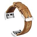 billige Smartklokke Tilbehør-Klokkerem til Fitbit Charge 2 Fitbit Klassisk spenne Ekte lær Håndleddsrem