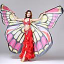 abordables Accesorios de Baile-Accesorios de Baile Chica Guapa Accesorios de Escenario Mujer Rendimiento Poliéster Diseño de mariposa Estampado Ondulado Tema Lazo De
