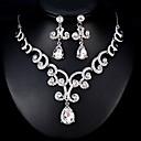 cheap Earrings-Women's Jewelry Set - European, Fashion Include Silver For Wedding / Daily