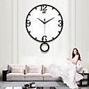 cheap DIY Wall Clocks-Modern / Contemporary Acryic / Polyester Novelty Indoor / Outdoor,AA Batteries Powered AA Wall Clock