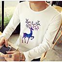 cheap Men's Slip-ons & Loafers-Men's Basic T-shirt - Animal