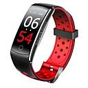 tanie Smart Plug-Inteligentny zegarek Q8X na Android iOS Bluetooth Spalonych kalorii Bluetooth Czujnik dotyku Krokomierze Kontrola APP Pulsometr Krokomierz Powiadamianie o połączeniu telefonicznym Rejestrator