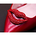 cheap Foot/Shoe Accents-Rhinestones Decorative Accent Women's All Seasons Casual Red