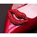 billige Sykkelhansker-Rhinestones Dekorative detaljer Dame Alle årstider Avslappet Rød