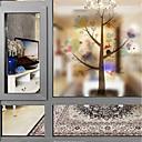 tanie סרטים ומדבקות לחלון-Folie okienne i naklejki Dekoracja Współczesny Znak PVC Naklejka okienna / Matowy / a / hol / Salon