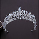 cheap Swatches-Alloy Tiaras with Rhinestone 1pc Wedding / Party / Evening Headpiece