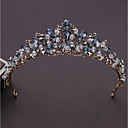 cheap Party Headpieces-Alloy Tiaras with Rhinestone / Crystal 1pc Wedding / Special Occasion Headpiece