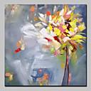 זול ציורים מופשטים-מינטורה יד צבוע ציור פרח שמן מופשט על בד מודרני אמנות קיר תמונות לקישוט הקיר מוכן לתלות