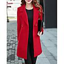 olcso Sütőeszközök-Alap Női Extra méret Kabát-Egyszínű